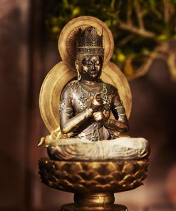 Buddha Statue for sale, Dainichi Nyorai palm-sized, install example as an interior object