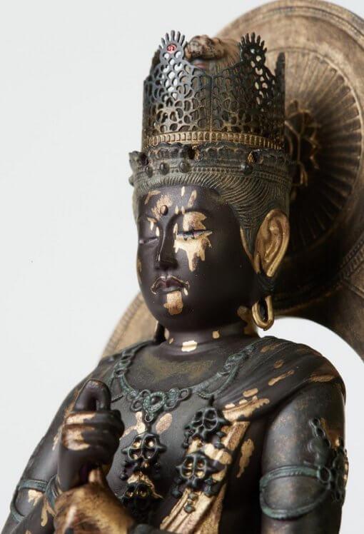 Buddha Statue for sale, Dainichi Nyorai palm-sized