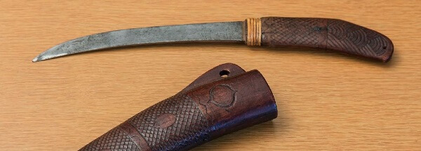 Ainu's penknife Makiri