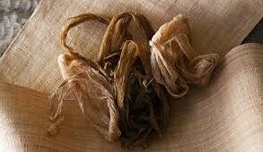 Japanese crafts Nibutani Bark Cloth, bark materials