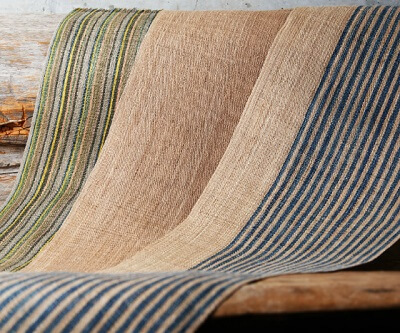 Japanese crafts Nibutani Bark Cloth, completed bark cloth