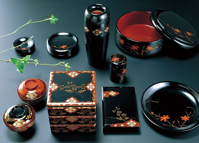 Japanese lacquerware crafts, Hidehira Lacquerware product lineup