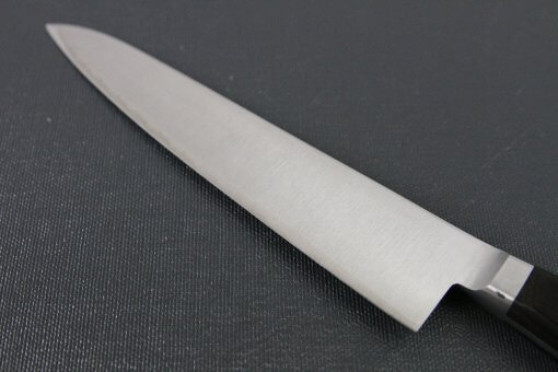 Japanese Highest Quality Chef Knife, Tohu Powder high-speed steel Series, petit knife 150mm, details of blade backside