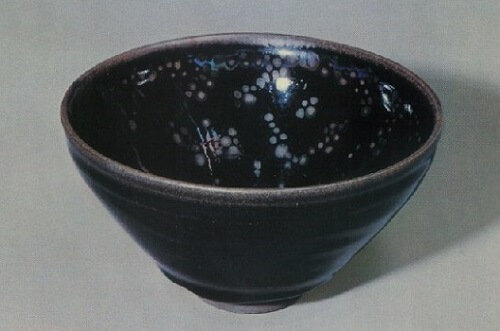 National Treasure Yohen Tenmoku tea bowl owned by Daitokuji Temple