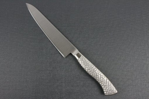 Japanese Chef Knife, Elegance Monaka Series, petit knife 150mm, backside view