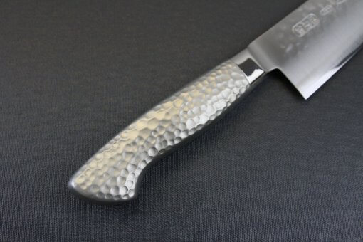 Japanese Chef Knife, Hammer Finish Series, Gyuto chef knife 210mm, details of handle