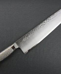 Japanese Chef Knife, Hammer Finish Series, Gyuto chef knife 270mm, front view