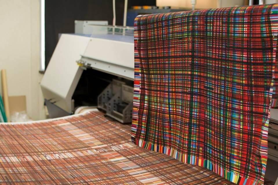 Kiryu Kimono Fabric, Traditional Japanese fabric for Kimono etc., a sightseeing spots around Kiryu, weaving factory