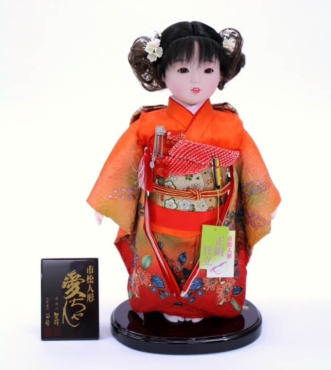 Iwatsuki Japanese dolls, a Japanese traditional crafts, a general product