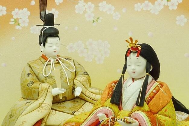 Iwatsuki Japanese dolls, a Japanese traditional crafts, a product of Hina dolls