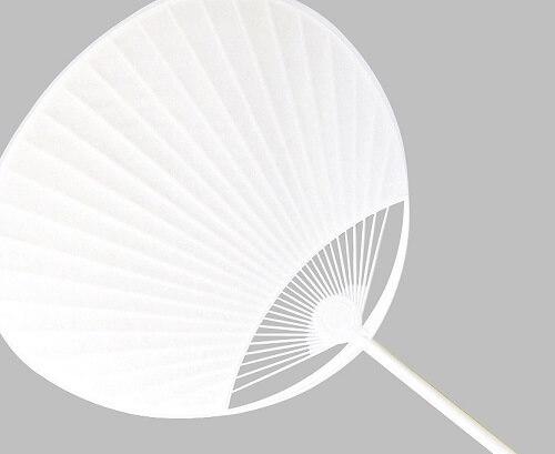 Boshu Uchiwa Fans, Japanese traditional craft, frame of cheap plastic Uchiwa fan