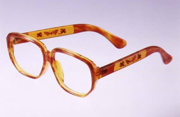 Japanese Traditional Edo Tortoise Shell Crafts, glasses