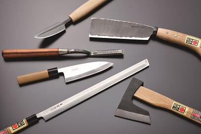 Echigo-Sanjo Cultery, a traditional Japanese crafts, various cutlery