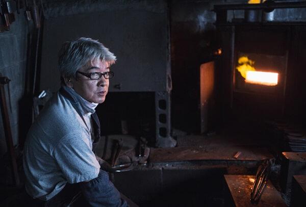 Echigo-Sanjo Cultery, a traditional Japanese crafts, a top artisan of Sanjo cutlery