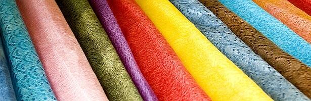 Mino Washi Japanese paper, a Japanese traditional craft, colorful Washi rolls