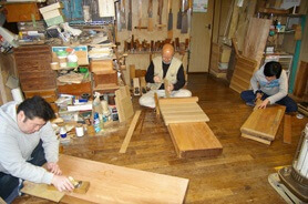 Japanese traditional craft, Edo woodworks, a factory you can visit in Tokyo