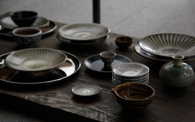 Japanese dishes, various tableware pottery