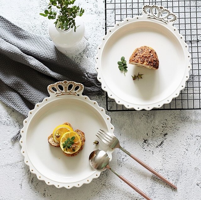 western style tableware dishes