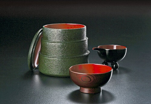Naruko Lacquerware, Japanese traditional crafts in Tohoku, product example