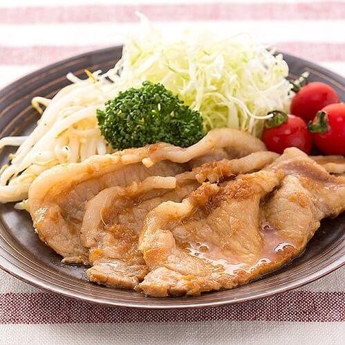Japanese cuisine washoku recipe, pork steak
