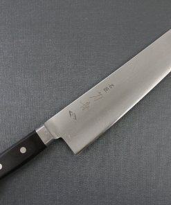 Japanese Chef Knife, Toshu super blue steel Aogami Super, Gyuto chef knife 270mm, entire front view