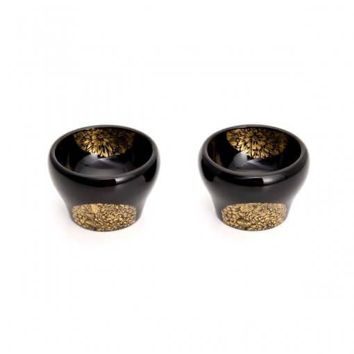Sake-ware, Wajima Lacquerware, Sake Bottle/Cups/Tray Set, sake cups