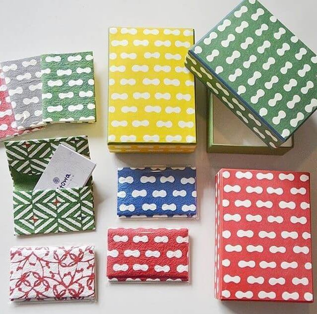 Etchu washi Japanese paper, a Japanese crafts, various products