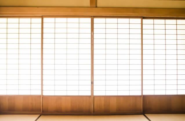 Etchu washi Japanese paper, a Japanese crafts, Washi is used to Shoji doors