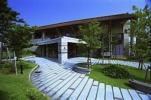 Kutani pottery museum in Japan, Ishikawa pref.