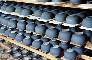 Wajima-nuri Lacquerware, a Japanese craft and art, making process of drying