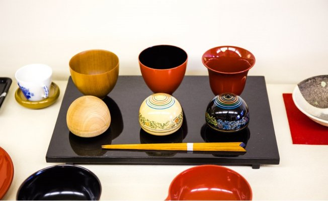 Echizen Lacquerware, a Japanese traditional craft, various products