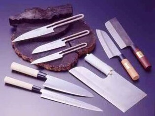 Echizen cutlery, a Japanese traditional craft, various products