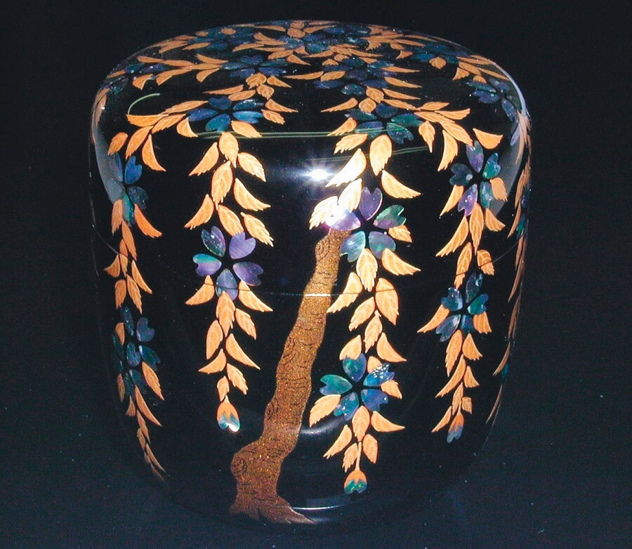 Kyoto lacquerware, a Japanese crafts, a beautiful box