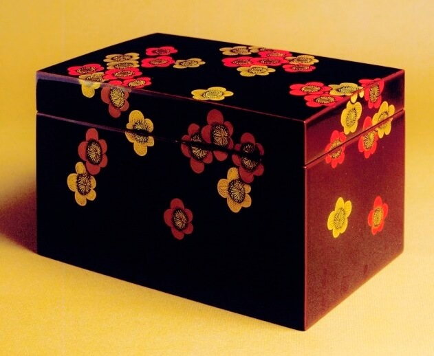 Kyoto lacquerware, a Japanese crafts, item box