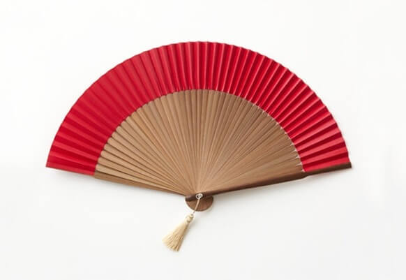 Kyoto Folding Fan, a Japanese traditional craft, simple designed fan