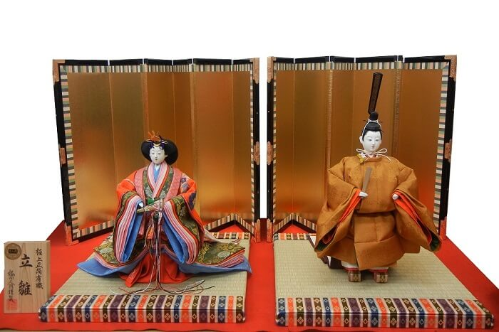 Kyoto Dolls, a Japanese traditional craft, Hina dolls