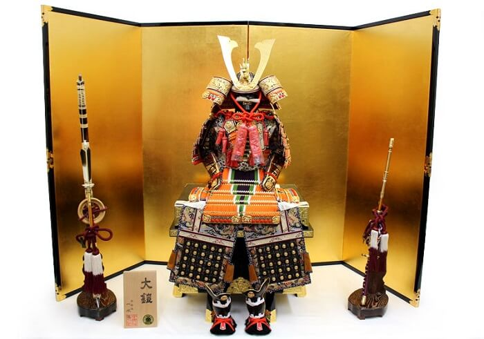 Kyoto Dolls, a Japanese traditional craft, Samurai armor dolls