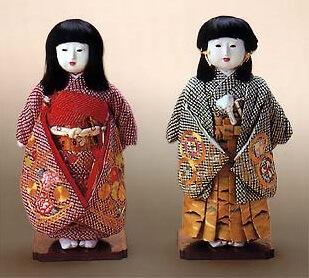 Kyoto Dolls, a Japanese traditional craft, Ichimatsu dolls