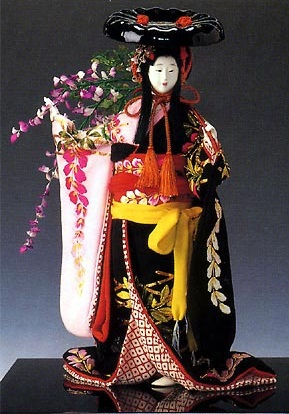 Kyoto Dolls, a Japanese traditional craft, a Fuzoku doll