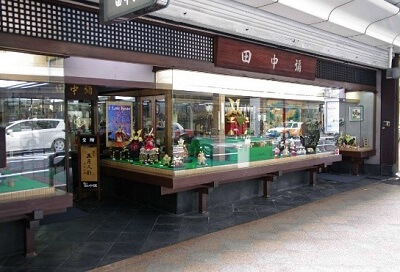 Kyoto Dolls, a Japanese traditional craft, a famous doll shop in Kyoto Tanakaya