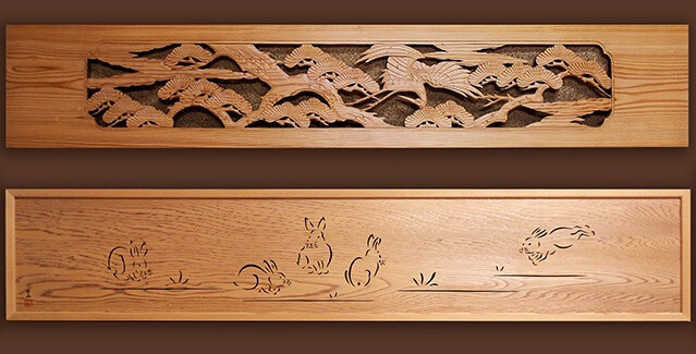 Osaka Ranma: Wood Carved Openwork Panel, products