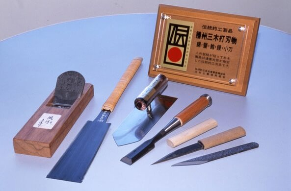 Miki cutlery, a Japanese traditional crafts, various cutlery products with certificate
