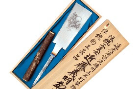 Miki cutlery, a Japanese traditional crafts, saw for professionals