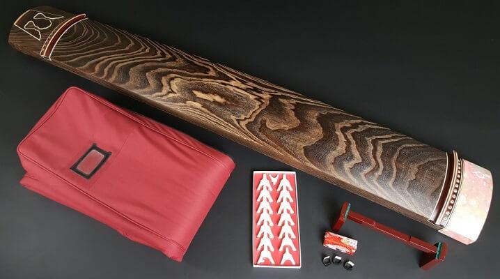 Fukuyama Japanese harp - Koto, a japanese traditional craft, complete set of Koto