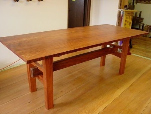 Japanese arts and crafts: wooden desk