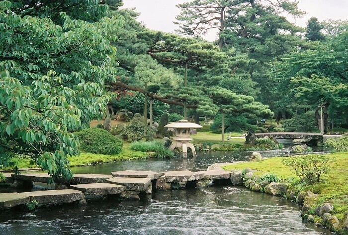 Japanese arts and crafts: Japanese garden