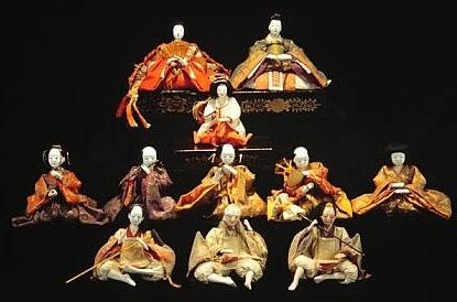Japanese arts and crafts: Hina dolls