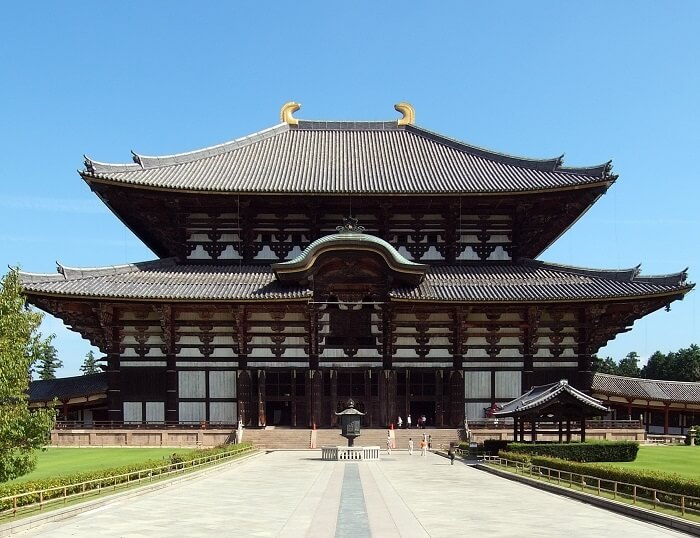 Buddhist Architecture, Todai-ji temple