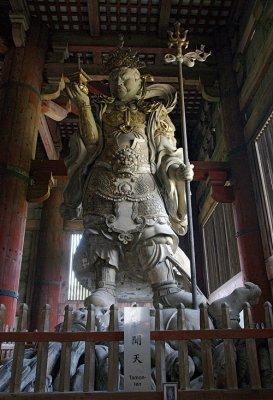 Buddhist Architecture, KongoRikishi Buddha statue