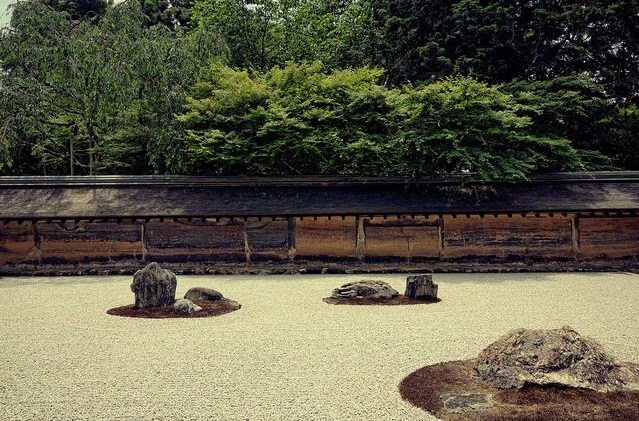 Buddhist Architecture, Japanese garden